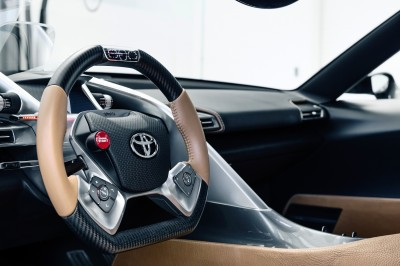 Toyota FT-1 Version Two Brings Sexy Gloss Grey, Aero Tweaks and Near-Production Cabin 17