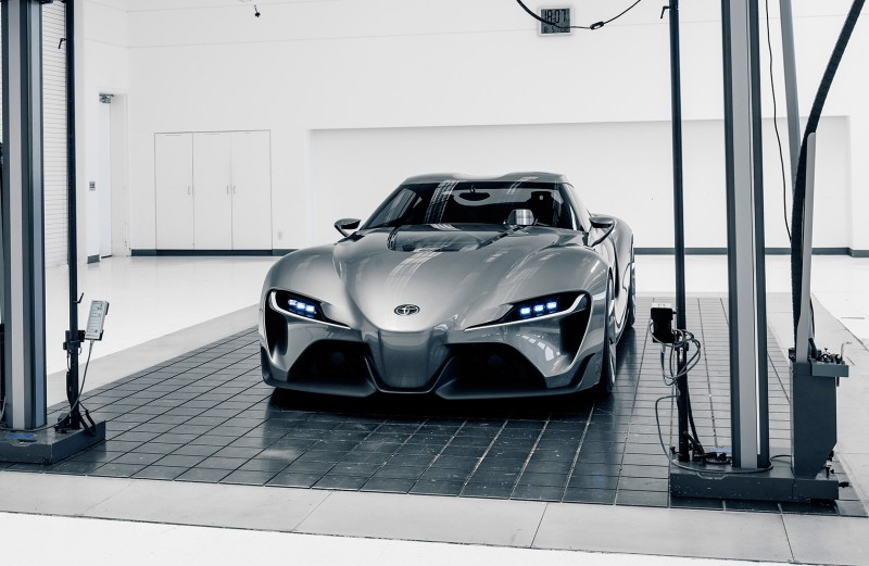 Toyota FT-1 Version Two Brings Sexy Gloss Grey, Aero Tweaks and Near-Production Cabin 7