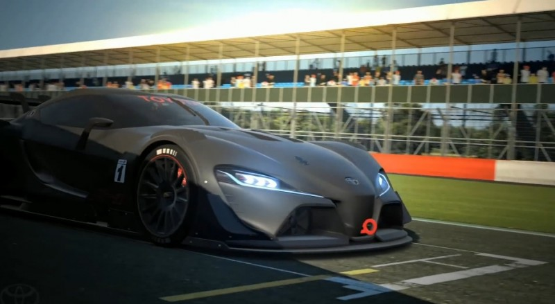 Toyota FT-1 Vision GT Now Playable 11