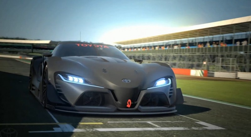 Toyota FT-1 Vision GT Now Playable 12