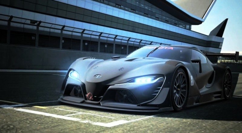 Toyota FT-1 Vision GT Now Playable 2