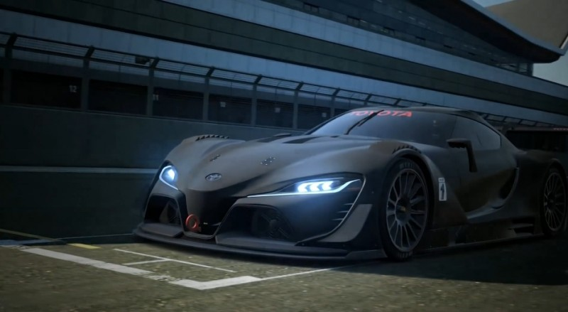 Toyota FT-1 Vision GT Now Playable 3