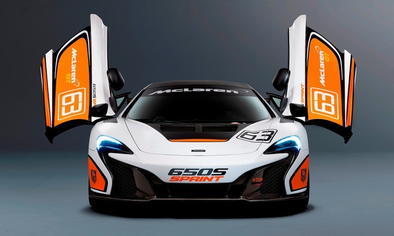 Track-Only 2014 McLaren 650S Sprint To Debut at Packed McLaren Pebble Beach Stand 1