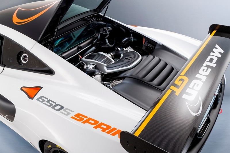 Track-Only 2014 McLaren 650S Sprint To Debut at Packed McLaren Pebble Beach Stand 2