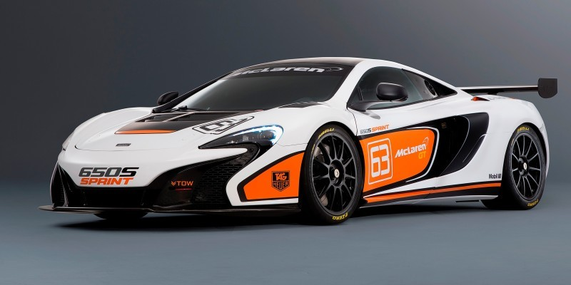 Track-Only 2014 McLaren 650S Sprint To Debut at Packed McLaren Pebble Beach Stand 3