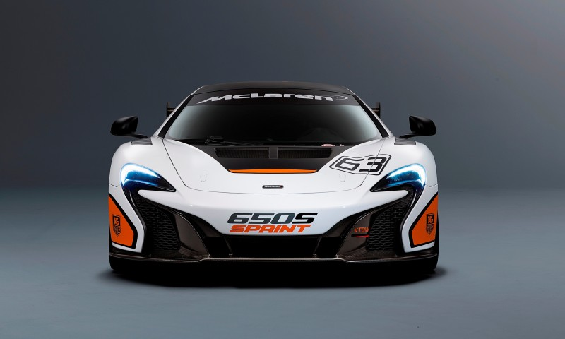Track-Only 2014 McLaren 650S Sprint To Debut at Packed McLaren Pebble Beach Stand 4