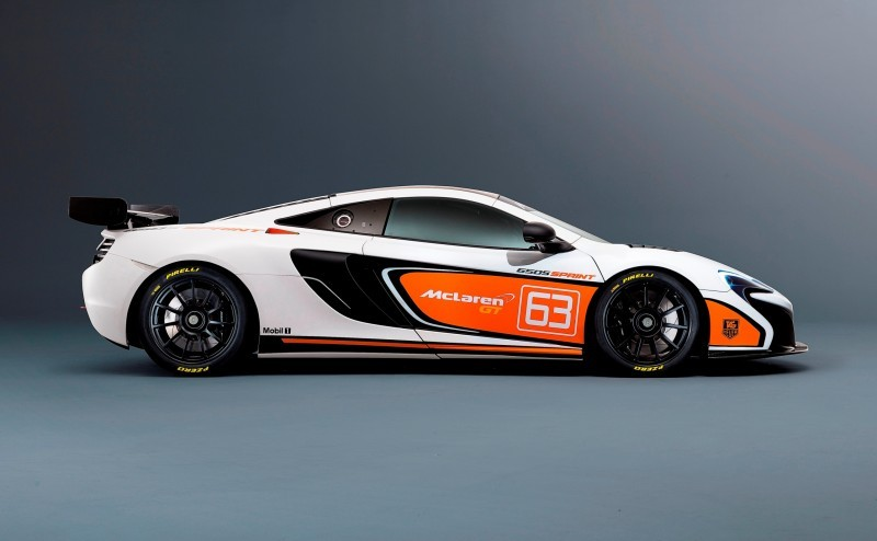 Track-Only 2014 McLaren 650S Sprint To Debut at Packed McLaren Pebble Beach Stand 6