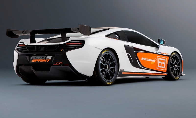 Track-Only 2014 McLaren 650S Sprint To Debut at Packed McLaren Pebble Beach Stand 7