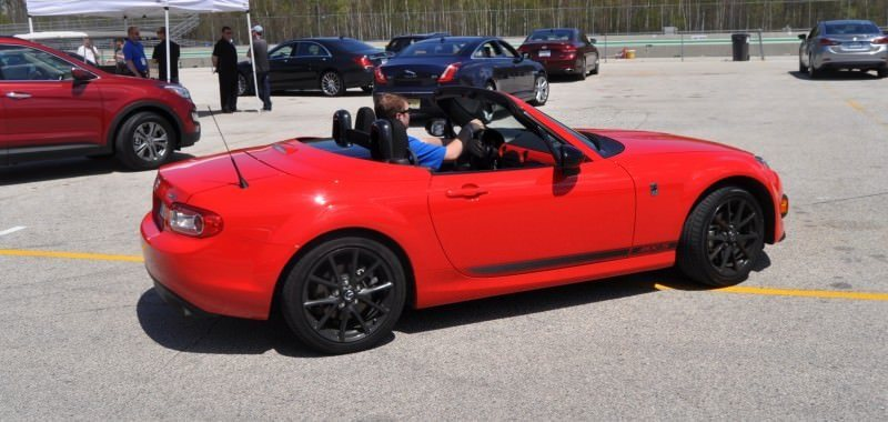 Track Test Review - 2014 Mazda MX-5 Club Hardtop at Road America Autocross1