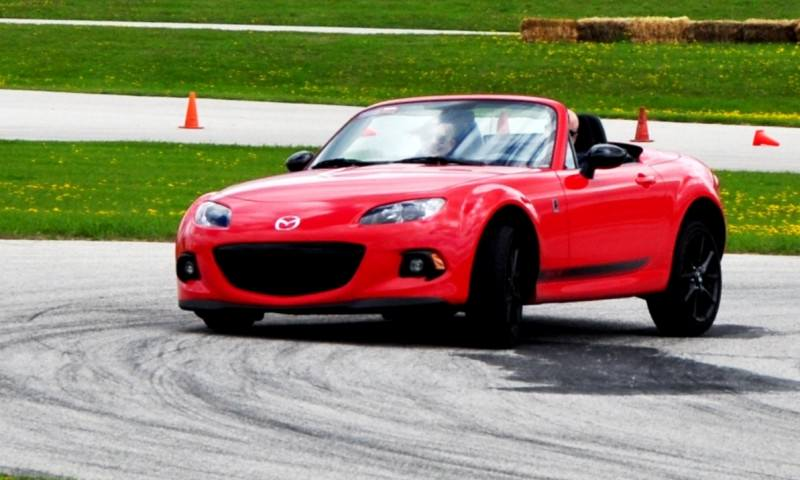Track Test Review - 2014 Mazda MX-5 Club Hardtop at Road America Autocross7