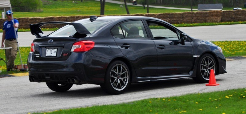 Track Test Review - 2015 Subaru WRX STI Is Brilliantly Fast, Grippy and Fun on Autocross 19