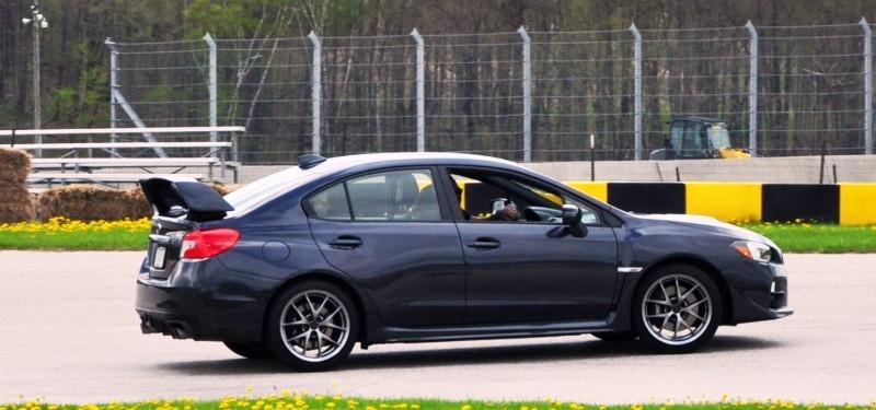 Track Test Review - 2015 Subaru WRX STI Is Brilliantly Fast, Grippy and Fun on Autocross 21
