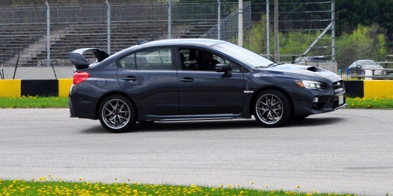 Track Test Review - 2015 Subaru WRX STI Is Brilliantly Fast, Grippy and Fun on Autocross 23