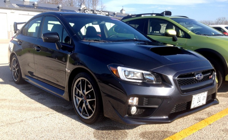 Track Test Review - 2015 Subaru WRX STI Is Brilliantly Fast, Grippy and Fun on Autocross 27