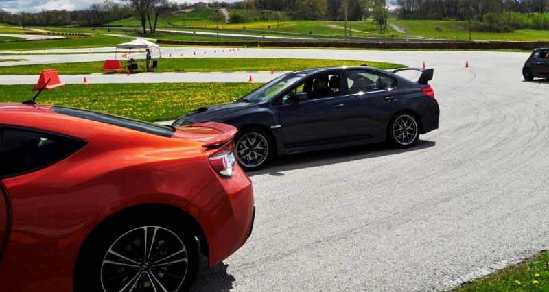 Track Test Review - 2015 Subaru WRX STI Is Brilliantly Fast, Grippy and Fun on Autocross 6