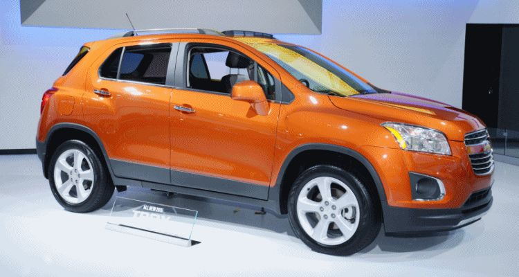 Trax USA chevy 2015