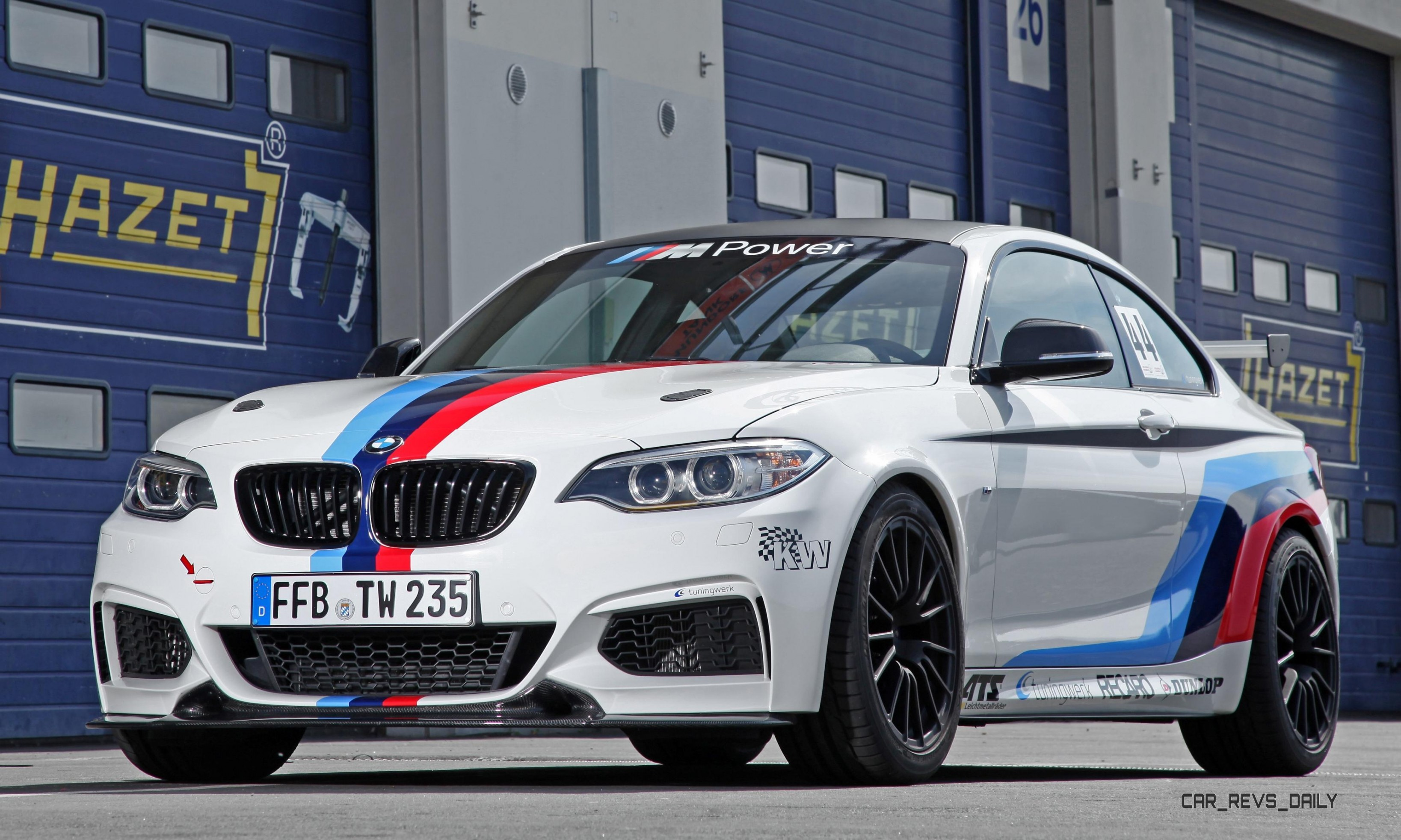 BMW M235i RS by TUNINGWERK Making 400 HP Performance Mod Items
