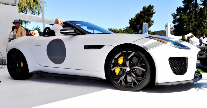 USA Debut - 2014 JAGUAR F-TYPE Project 7 Speedster! 3.8s to 60MPH, 575HP, 250 Copies Max 1