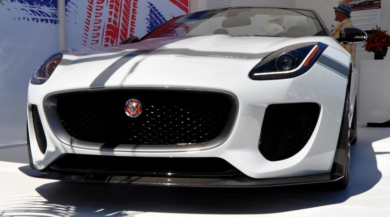 USA Debut - 2014 JAGUAR F-TYPE Project 7 Speedster! 3.8s to 60MPH, 575HP, 250 Copies Max 10