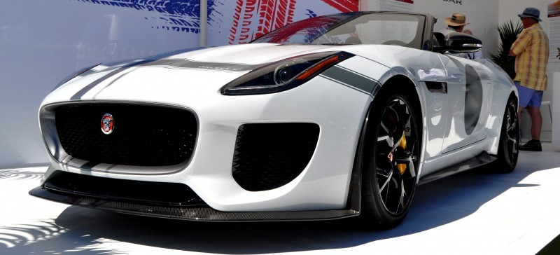 USA Debut - 2014 JAGUAR F-TYPE Project 7 Speedster! 3.8s to 60MPH, 575HP, 250 Copies Max 12