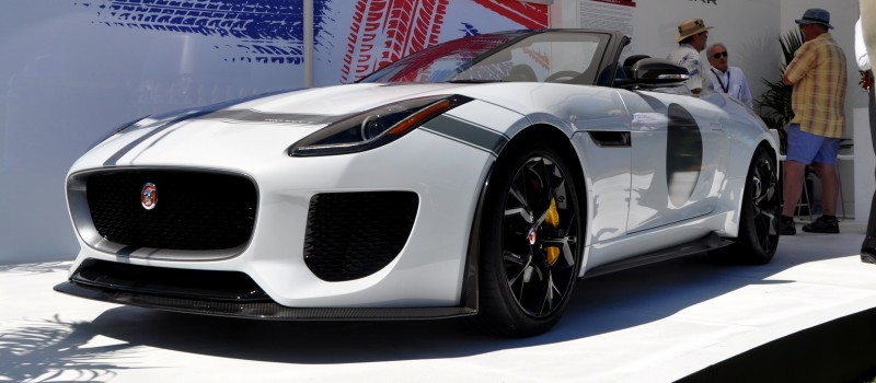 USA Debut - 2014 JAGUAR F-TYPE Project 7 Speedster! 3.8s to 60MPH, 575HP, 250 Copies Max 13