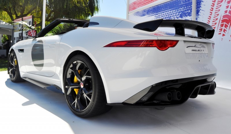 USA Debut - 2014 JAGUAR F-TYPE Project 7 Speedster! 3.8s to 60MPH, 575HP, 250 Copies Max 16