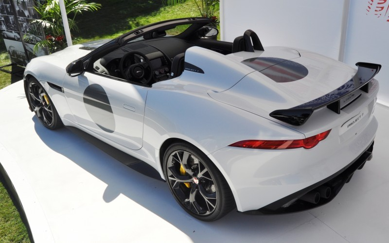 USA Debut - 2014 JAGUAR F-TYPE Project 7 Speedster! 3.8s to 60MPH, 575HP, 250 Copies Max 18