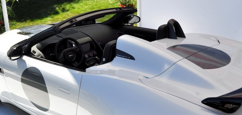 USA Debut - 2014 JAGUAR F-TYPE Project 7 Speedster! 3.8s to 60MPH, 575HP, 250 Copies Max 19