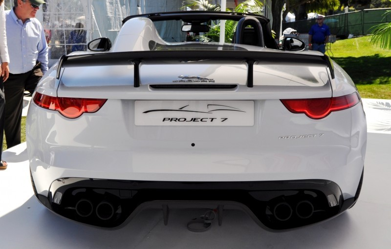 USA Debut - 2014 JAGUAR F-TYPE Project 7 Speedster! 3.8s to 60MPH, 575HP, 250 Copies Max 22
