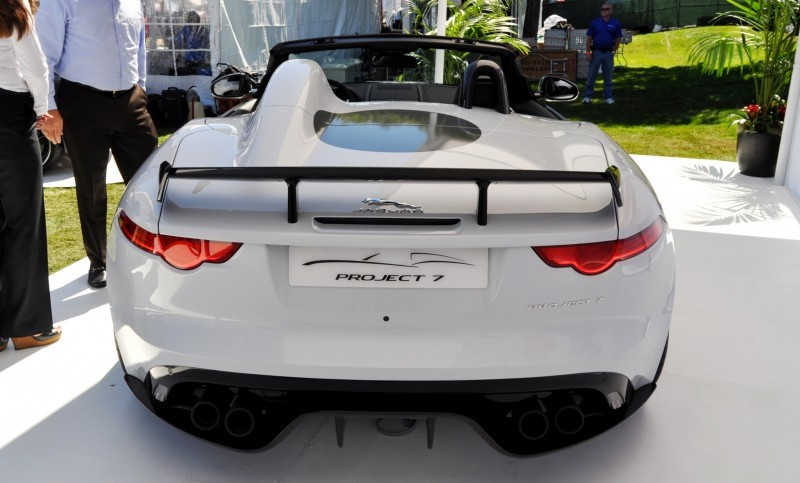 USA Debut - 2014 JAGUAR F-TYPE Project 7 Speedster! 3.8s to 60MPH, 575HP, 250 Copies Max 23