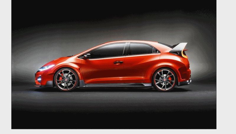 USA PROFILE 2016 HONDA CIVIC COUPE TYPE R - Drafts GIFsadbv