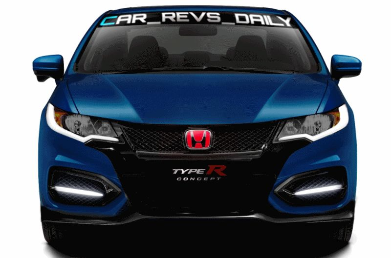 USA nose 2016 HONDA CIVIC COUPE TYPE R - Drafts GIF