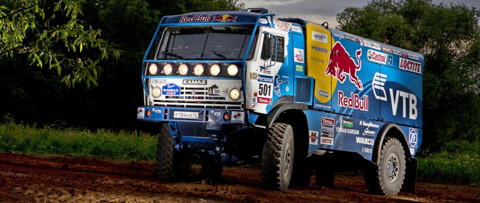 Unimog Nemesis - Red Bull KAMAZ 4911 - Dakar T4 Hero  14