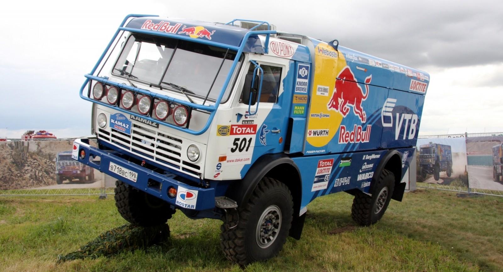 Unimog Nemesis - Red Bull KAMAZ 4911 - Dakar T4 Hero  18