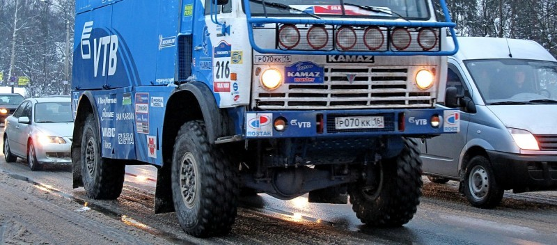 Unimog Nemesis - Red Bull KAMAZ 4911 - Dakar T4 Hero  2