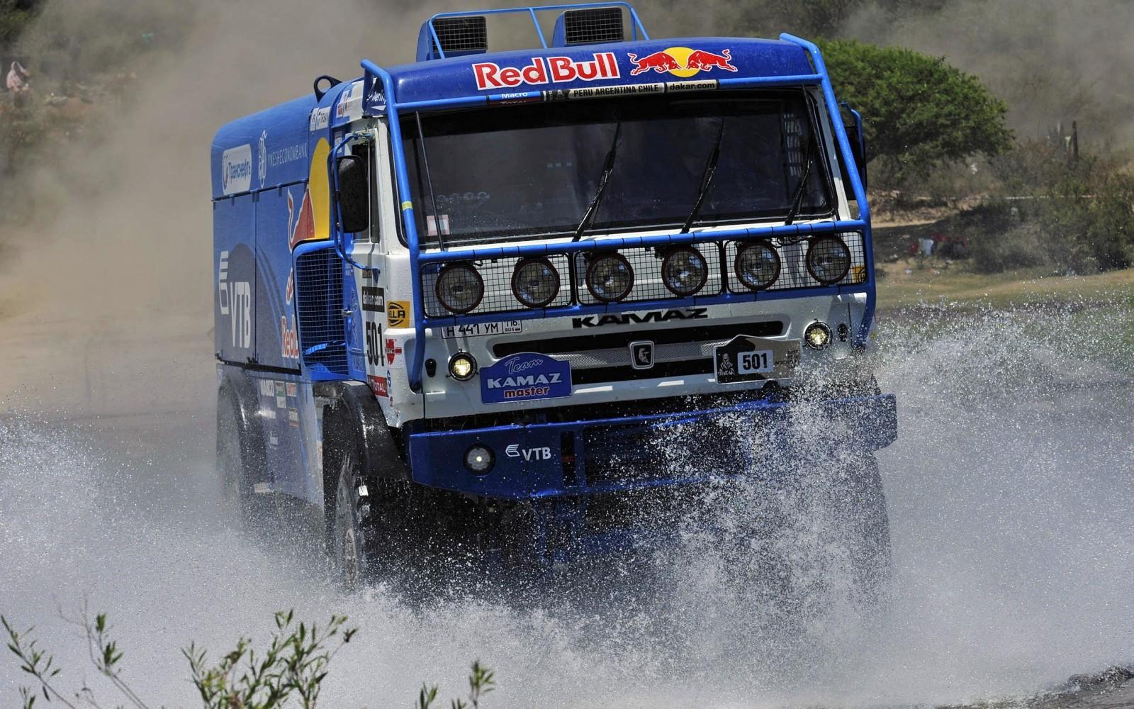 Unimog Nemesis - Red Bull KAMAZ 4911 - Dakar T4 Hero  21