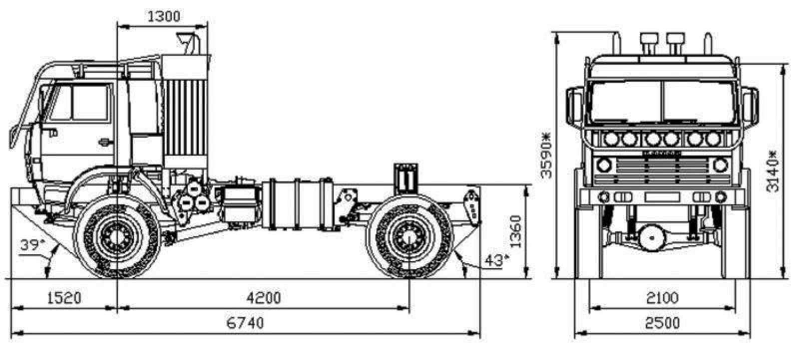 Unimog Nemesis - Red Bull KAMAZ 4911 - Dakar T4 Hero  31