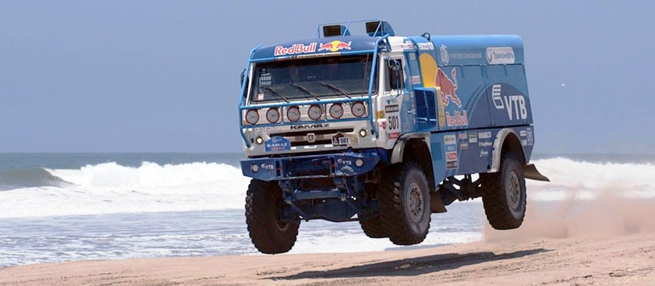 Unimog Nemesis - Red Bull KAMAZ 4911 - Dakar T4 Hero  32