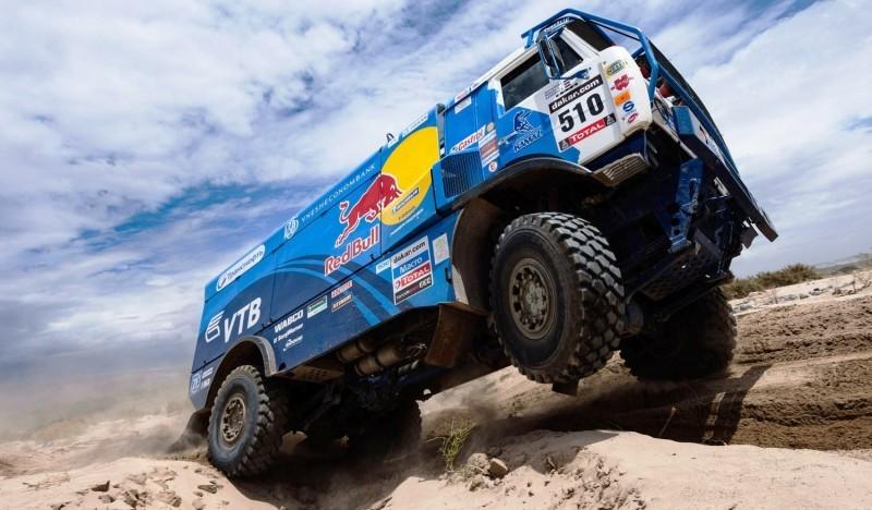 Unimog Nemesis - Red Bull KAMAZ 4911 - Dakar T4 Hero  34