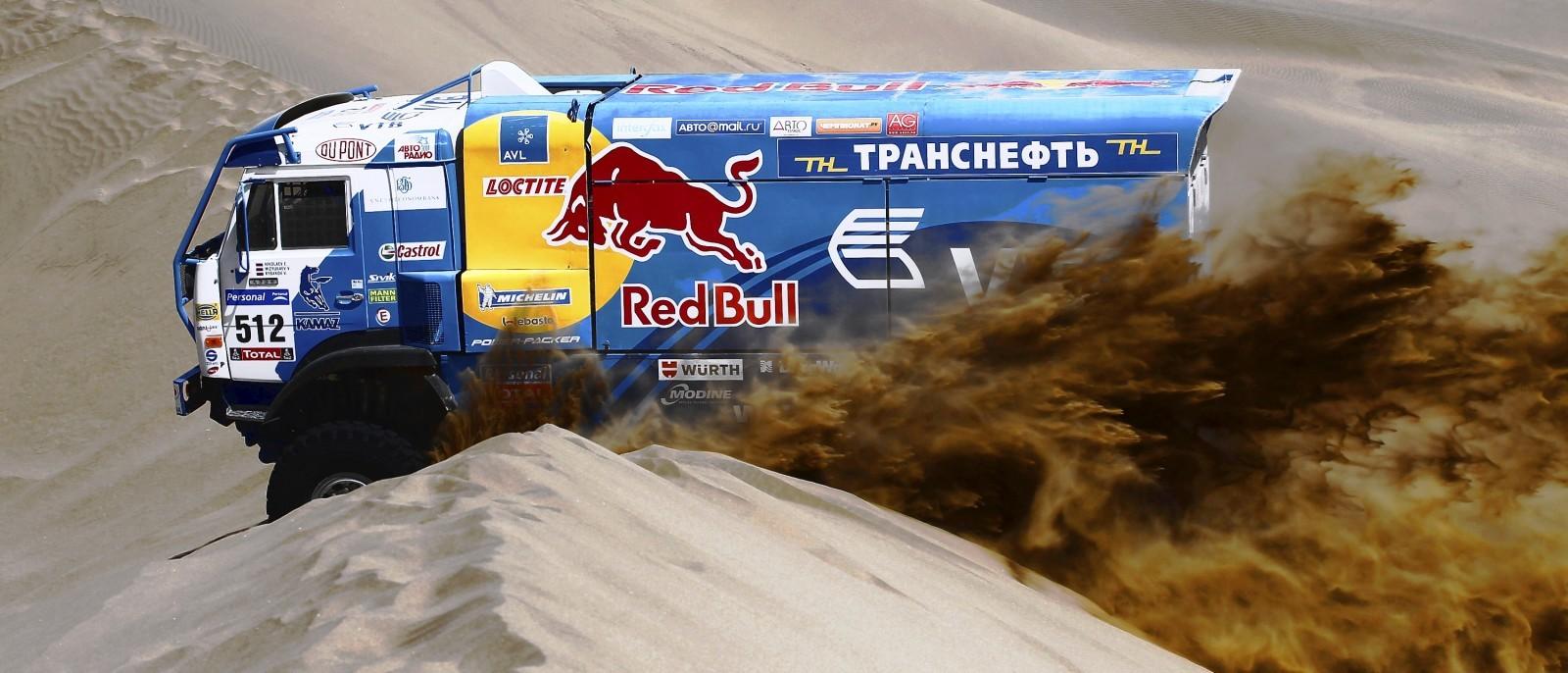 Unimog Nemesis - Red Bull KAMAZ 4911 - Dakar T4 Hero  8