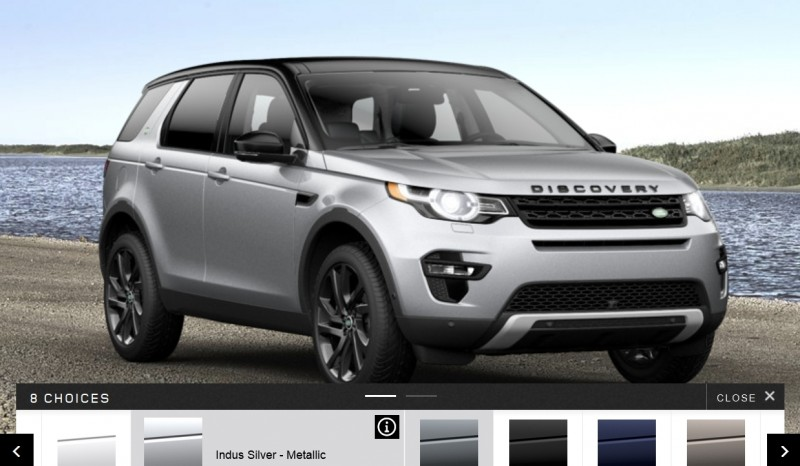 Update1 - 2015 Land Rover Discovery Sport - Specs, Prices, Options and Colors 11