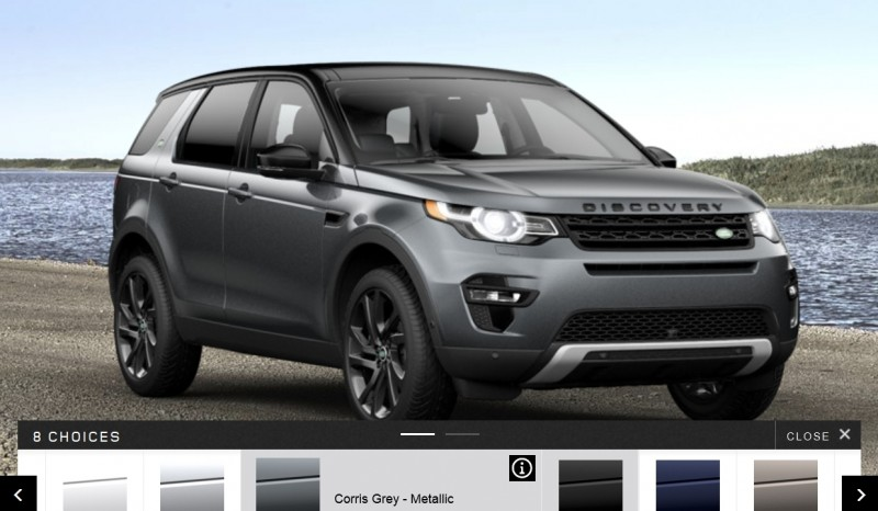 Update1 - 2015 Land Rover Discovery Sport - Specs, Prices, Options and Colors 12