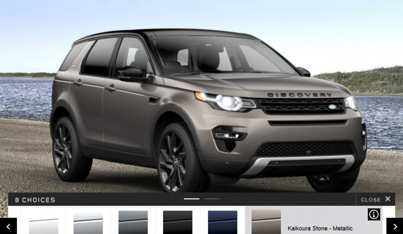 Update1 - 2015 Land Rover Discovery Sport - Specs, Prices, Options and Colors 15