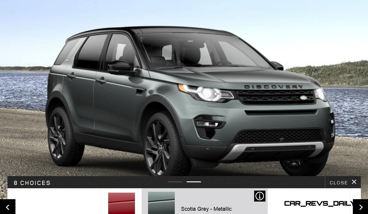 update1 with 88 new photos 2015 land rover discovery sport specs prices options and colors. Black Bedroom Furniture Sets. Home Design Ideas