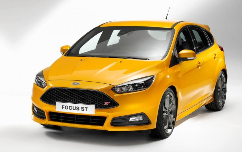 Update1 Full Photos - 2015 Ford Focus ST to Make Dynamic Debut at Goodwood FoS 2