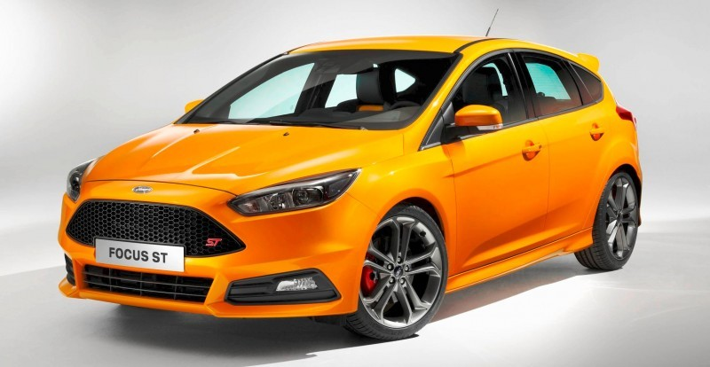 Update1 Full Photos - 2015 Ford Focus ST to Make Dynamic Debut at Goodwood FoS 4