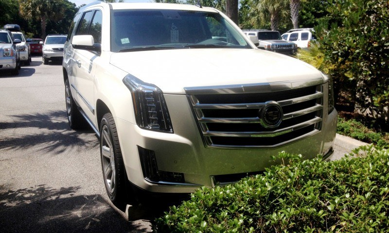 Update1 New Photos! 2015 Cadillac Escalade - Majors On Interior Upgrades - Leathers, Colors, Specs and Pricing 1