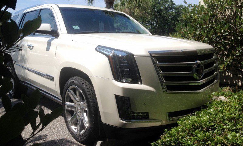 Update1 New Photos! 2015 Cadillac Escalade - Majors On Interior Upgrades - Leathers, Colors, Specs and Pricing 4