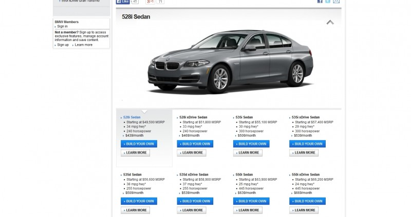 Update1 - Road Test Review - 2013 BMW 535i M Sport RWD - Buyers Guide to Trims and Cool Options 1