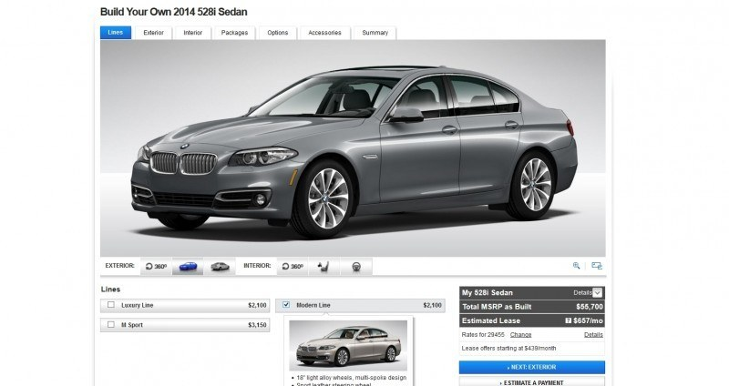 Update1 - Road Test Review - 2013 BMW 535i M Sport RWD - Buyers Guide to Trims and Cool Options 11